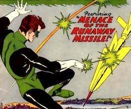 Green Lantern on the Go