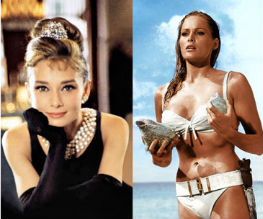Andress and Hepburn named most beautiful women from films