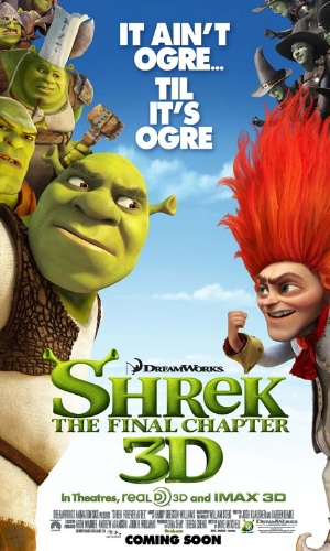 New Shrek 4 Poster