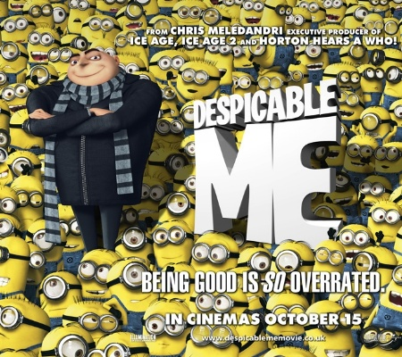 New Despicable Me Poster Online