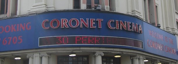Save our Independent Cinemas! This week: the Coronet Cinema