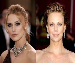 Knightley and Theron in Princess Diana Battle