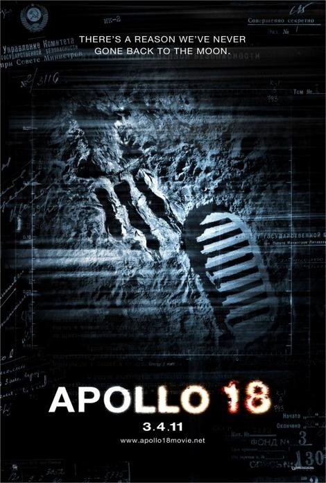 Apollo 18 poster lands