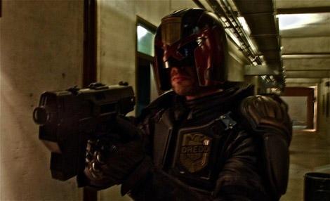 First photo of Karl Urban as Judge Dredd