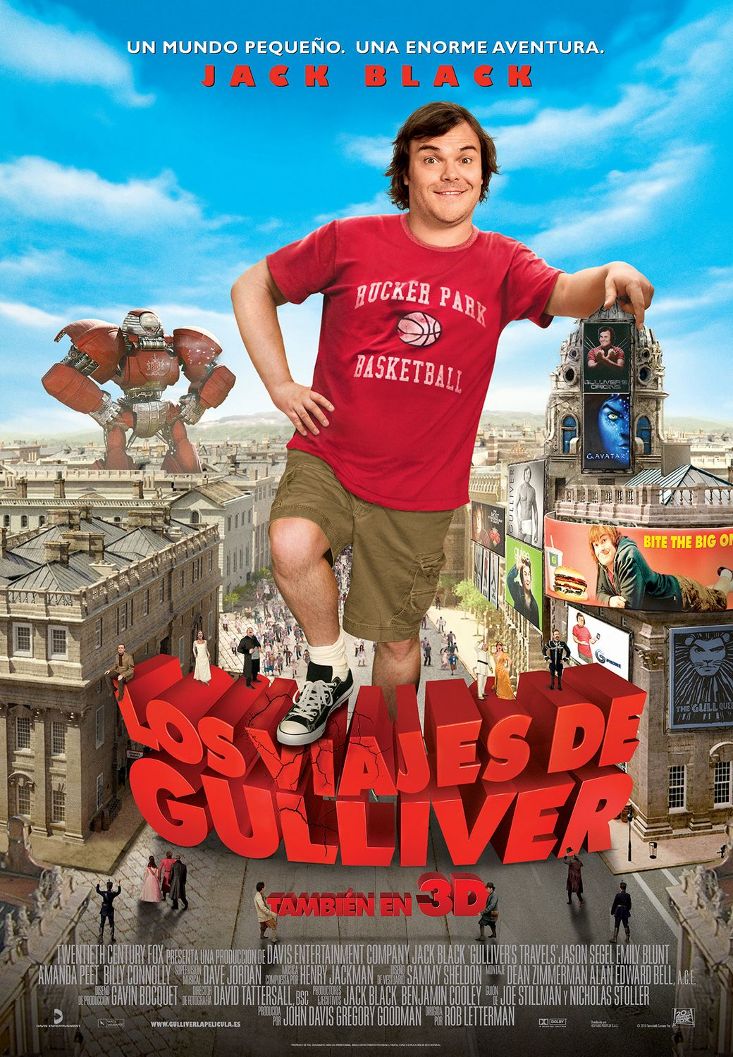 New Gulliver's Travels poster tanks online.