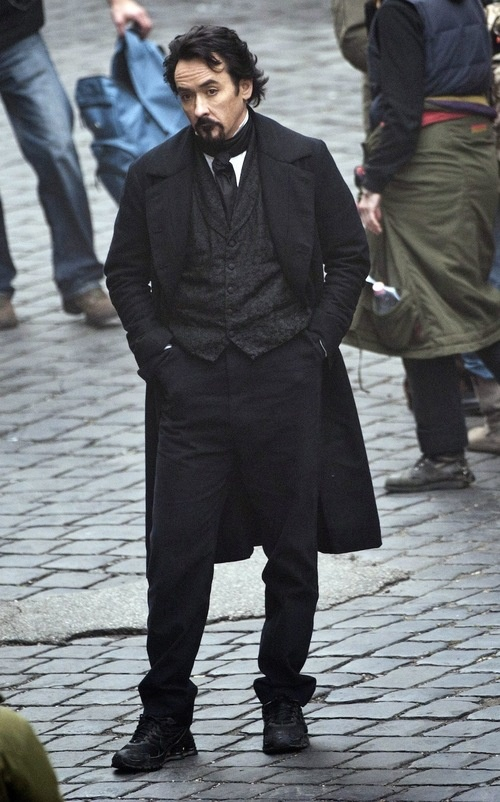 First image of Edgar Allan Poe in The Raven