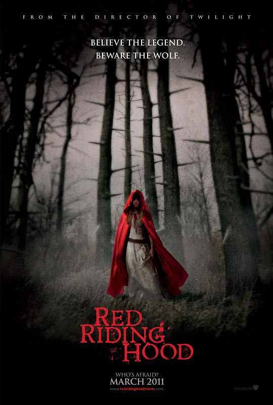 New poster and trailer for Red Riding Hood