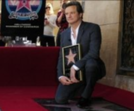Firth earns his Star