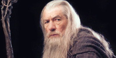 This is what Gandalf looked like as a young man...