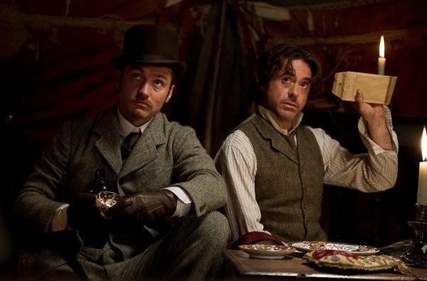 Sherlock Holmes 2 gets a fresh pic