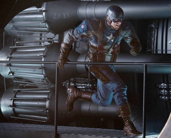 New Captain America pic online