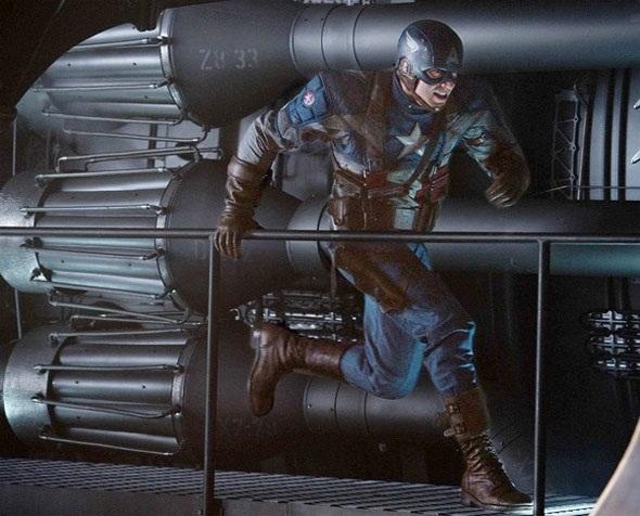 New Captain America pic online