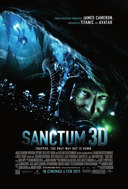 NEW James Cameron Sanctum poster online