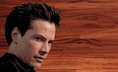 What type of wood is Keanu Reeves actually made of?