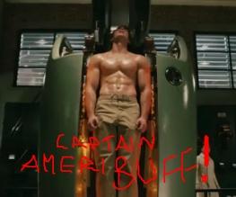 OMFG CAPTAIN AMERICA!