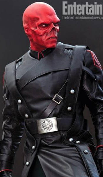 First Red Skull pic now online