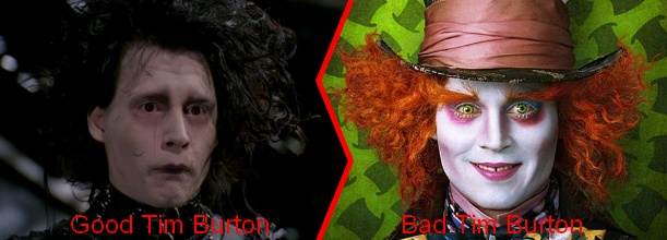 Friday Face/Off: Tim Burton