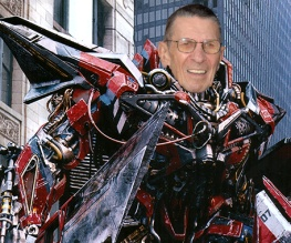 Leonard Nimoy joins Transformers 3 cast
