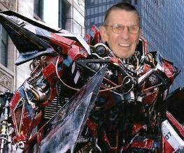 Leonard Nimoy joins Transformers 3 cast