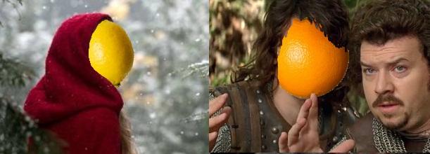Orange (Wednesday)s and Lemons #16