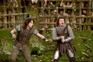 Danny McBride and James Franco in Your Highness