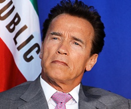 Arnie puts Hollywood on hold