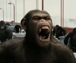 First full trailer for Rise of the Planet of the Apes