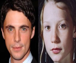 Stoker adds Mia Wasikowska and Matthew Goode to cast
