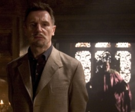 Liam Neeson spotted on The Dark Knight Rises set