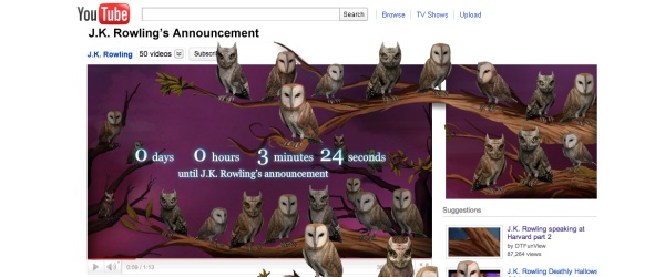 Pottermore is revealed!