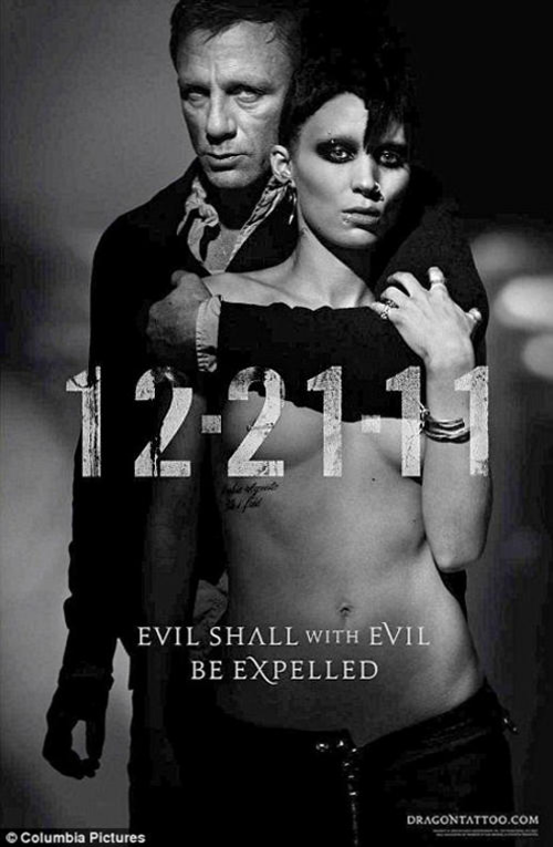 The Girl With The Dragon Tattoo gets a racy poster