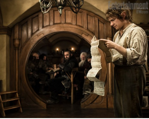 First pic of Martin Freeman as The Hobbit