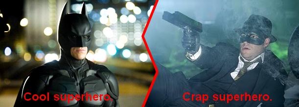 Friday Face/Off: Superhero Films