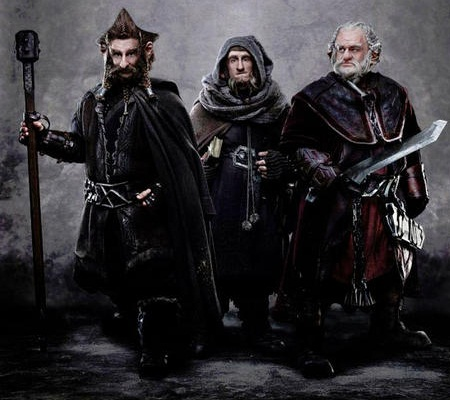 The Hobbit's dwarves arise from the depths of Middle Earth