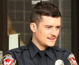 Orlando Bloom is tache-tastic in new trailer for Main Street