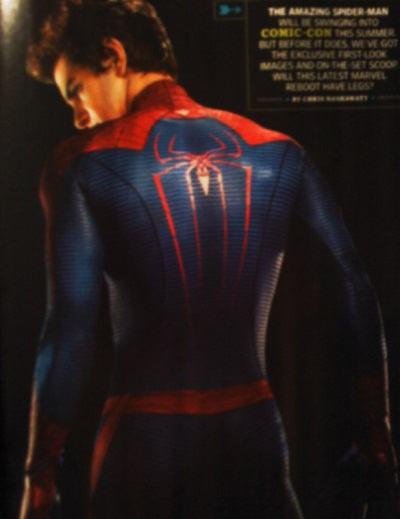 Brand new Spider-Man photos come swinging into town!