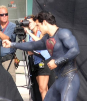 Man of Steel goes commando