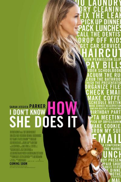 New Sarah Jessica Parker flick gets dreadful poster