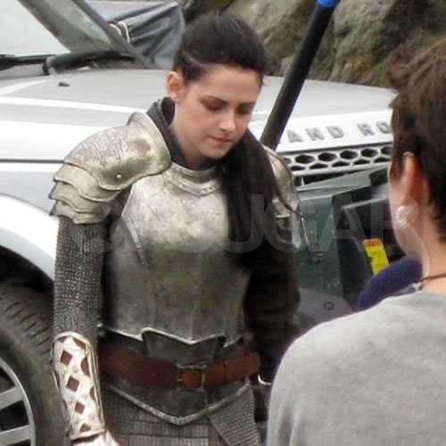 Photos from the Set of Snow White and the Huntsman
