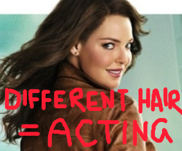 Heigl goes brunette for One For The Money. It doesn't help.