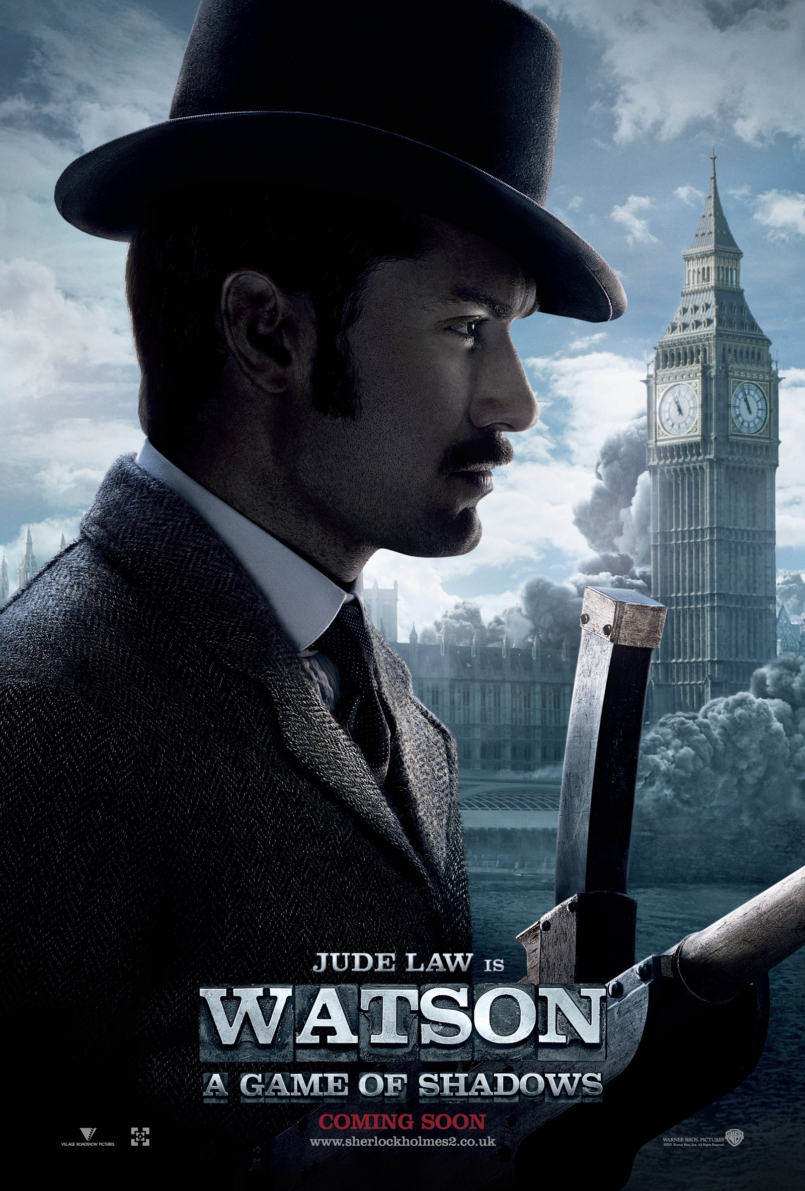 New trailer and posters for Sherlock Holmes: A Game of Shadows