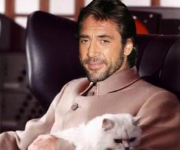 Javier Bardem is Bond's newest nemesis
