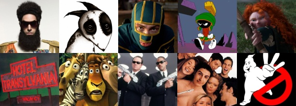 Top 20 Comedies to See in 2012