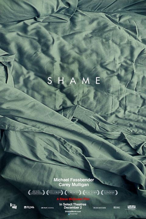 New poster for Michael Fassbender's Shame