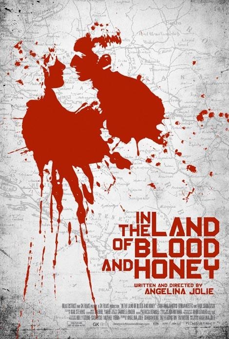 New poster for Angelina Jolie's In the Land of Blood and Honey