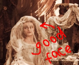 First look at Helena Bonham Carter's Havisham