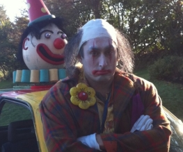 Ross Noble is an evil clown