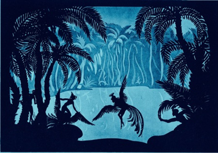 On The Adventures of Prince Achmed and the silhouette film