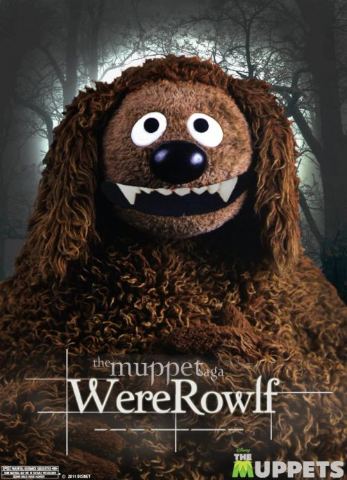 The Muppets go Twilight in three new posters
