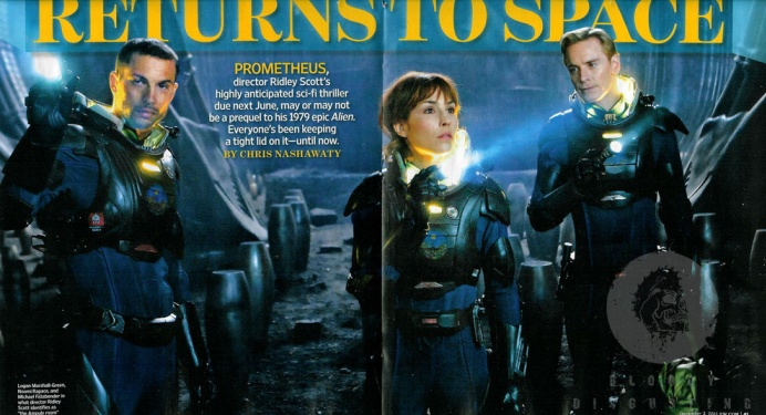 New stills from Ridley Scott's Prometheus